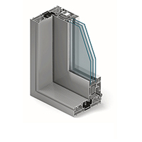 System okienno-drzwiowy MB 77 HS