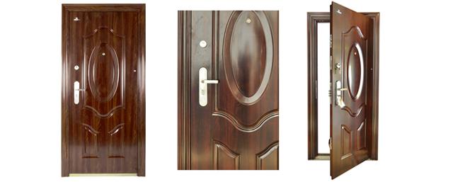 Drzwi LABRADOOR do mieszkań STALOWE S 6032