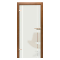 Drzwi szklane Interdoor ALBA 2 piaskowane