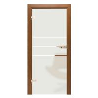 Drzwi szklane Interdoor ALBA 3 piaskowane