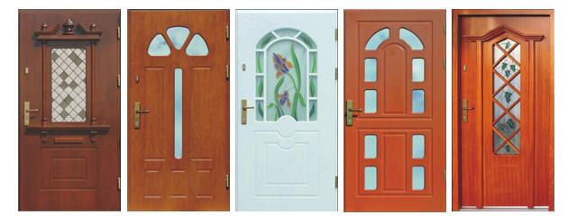 Drzwi drewniane DZIADEK do domów TYMAWA 68
