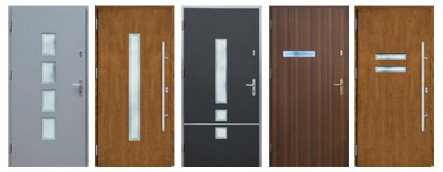 Drzwi DZIADEK  systemu ALUBOND