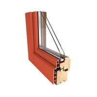 Okna drewniane BUDVAR DUALE LIGURIA 68 mm