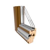 Okna drewniane BUDVAR PIEMONT 78 mm