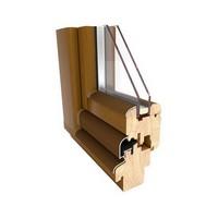 Okna drewniane BUDVAR LIGURIA 68 mm