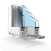 Okna pvc BUDVAR T-SLIDE z niskim progiem
