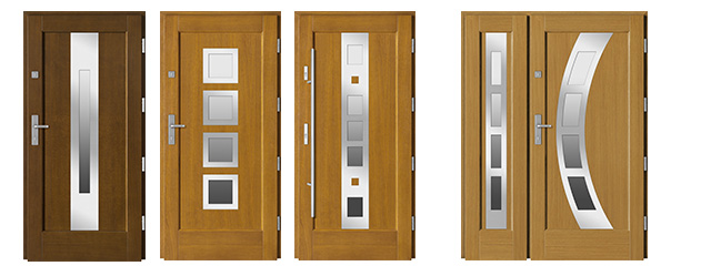 Drzwi BARANSKI PREMIUM MODERN INOX