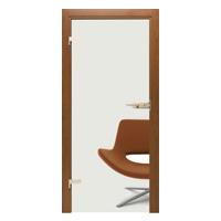 Drzwi szklane Interdoor PRZEŹROCZYSTE